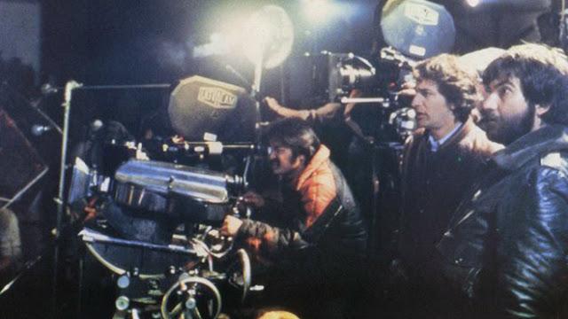 Tobe Hooper and Steven Spielberg