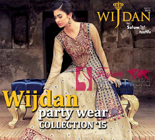 2348a4acc4 ... Salam Textile For Winter Season · Wijdan Party Wear Collection 2015