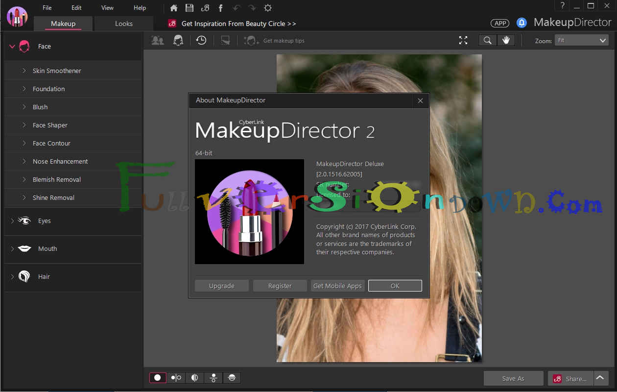 CyberLink MakeupDirector Deluxe Full Version