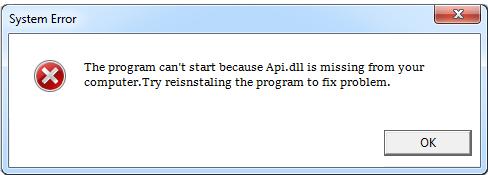 Télécharger Api.dll Fichier Gratuit Installer