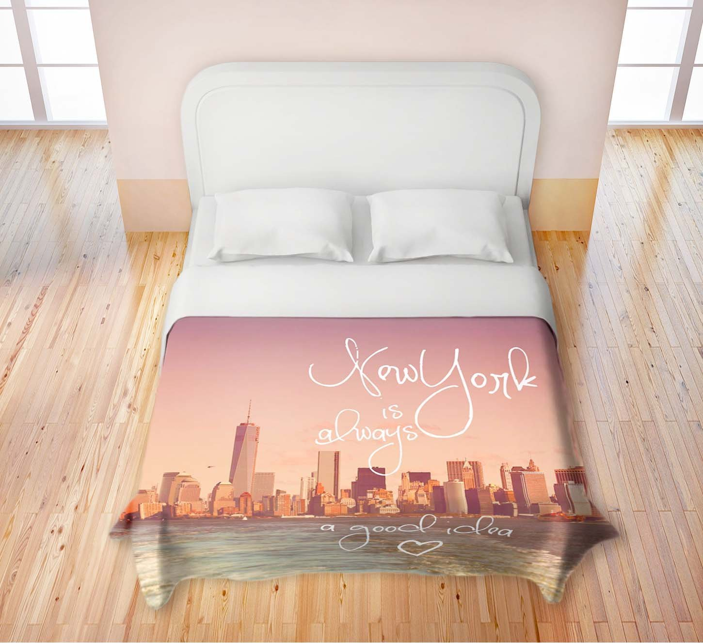 New York Themed Bedroom Ideas