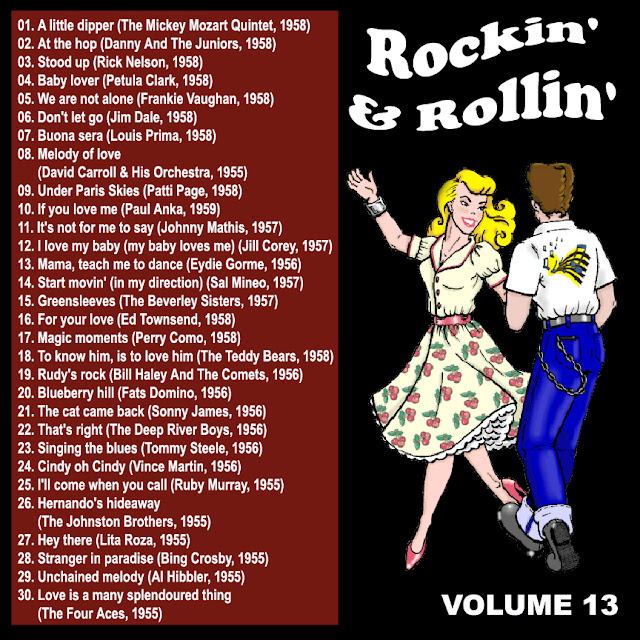 Cd collection Back To The 50's - Rockin' & Rollin' 13 Back