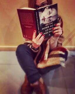 Morir no es lo que más duele, reseña de la novela de Inés Plana Palabras encadena Blog de lectura