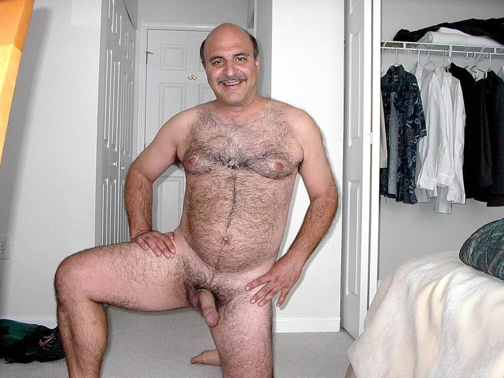 Grandpa Nude Pose 94