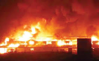 Fire Guts Big Factory In Ondo, Destroys N100m Equipment