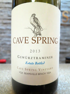Cave Spring Estate Bottled Gewürztraminer 2013 - Cave Spring Vineyard, VQA Beamsville Bench, Niagara Peninsula, Ontario, Canada (90 pts)