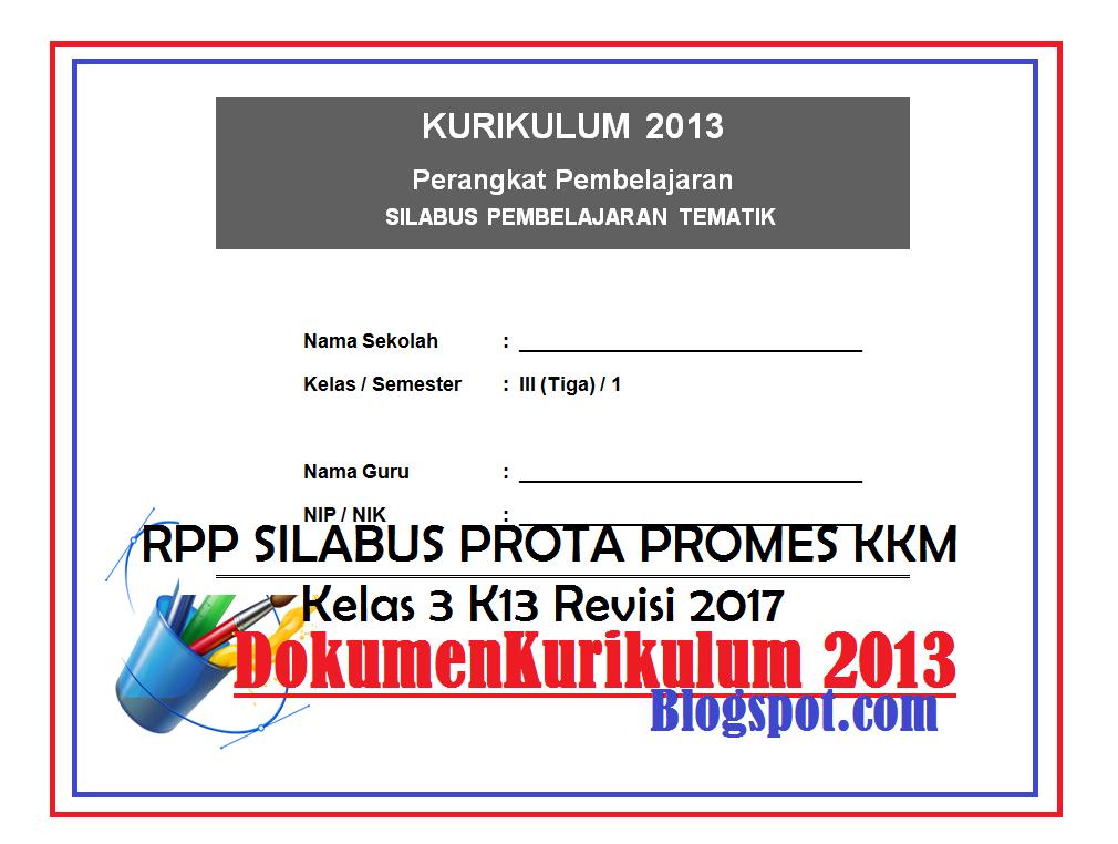 Silabus Rpp Kkm Ki Kd Prota Promes Kurikulum Download