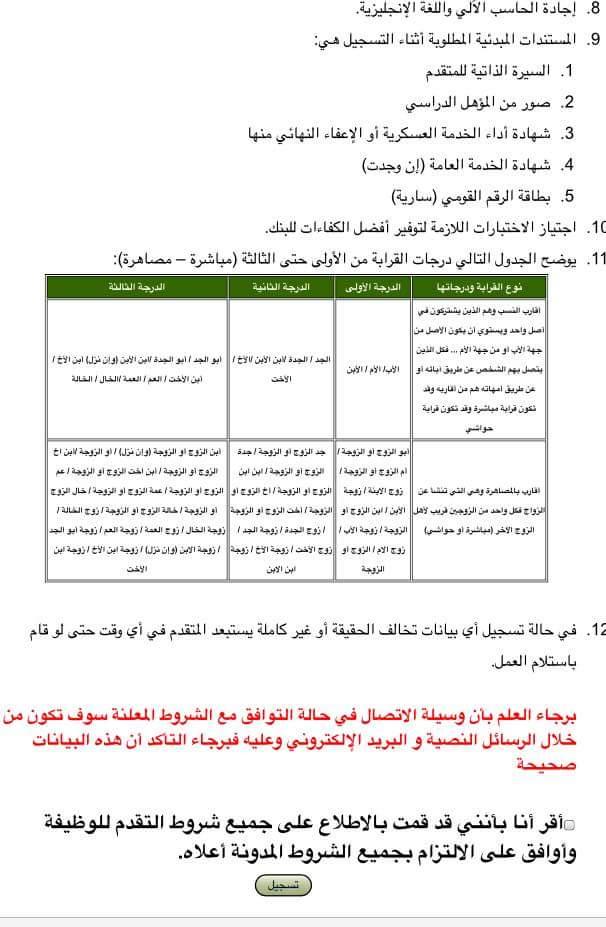 اعلان وظائف البنك الزراعى المصرى لخريجين الجامعات المصرية بجميع المحافظات - التقديم الكترونى