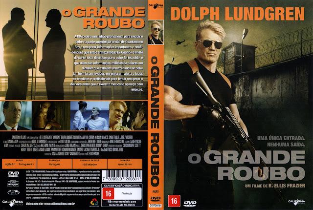 Capa DVD O Grande Roubo