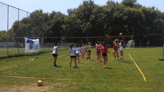 Με επιτυχία πραγματοποιήθηκε το Amazons Volleyball Camp