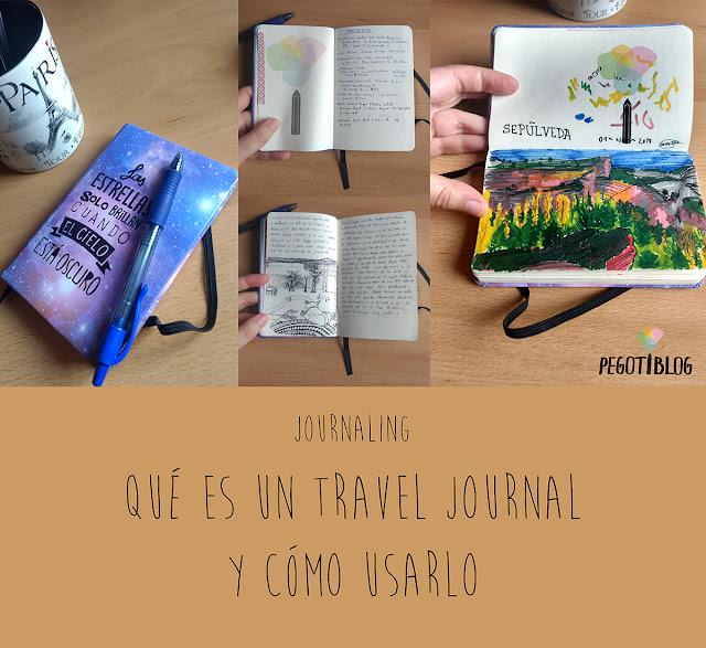 Travel journal o cuaderno de viaje: qué es, por qué usarlo en tu próximo viaje y qué poner en él