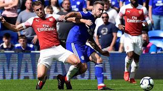 Video Cardiff - Arsenal: Siêu phẩm định đoạt, đại tiệc 5 bàn