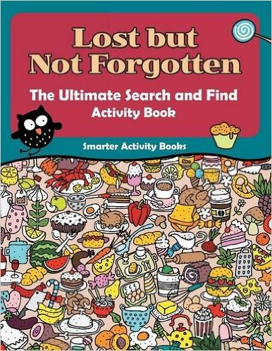 i did this book with my 7 year old the pages are set up with random images on every page in a circle there are 5 objects to find on each page