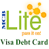 MCB Lite Visa Debit Card - How to Get, Details, Charges and Features