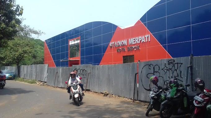 Pembangunan Stadion Merpati Ditinjau Walikota