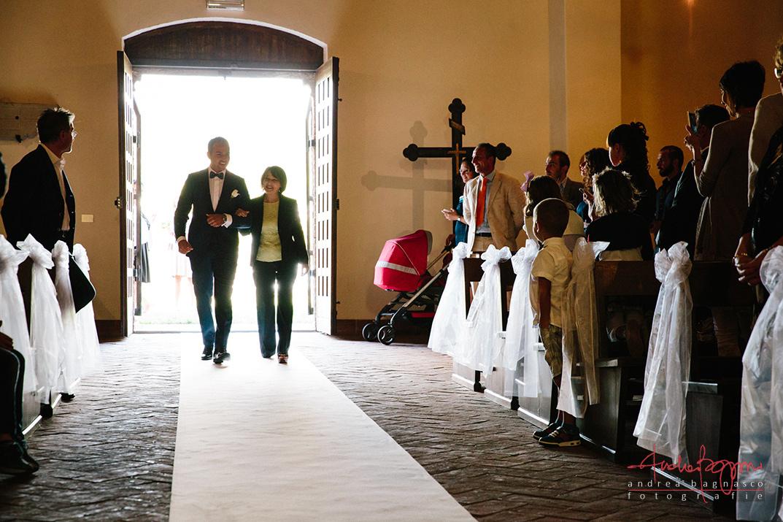 ingresso sposo foto matrimonio