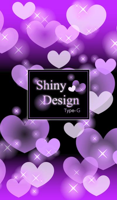 Shiny Design Type-G 紫&ハート