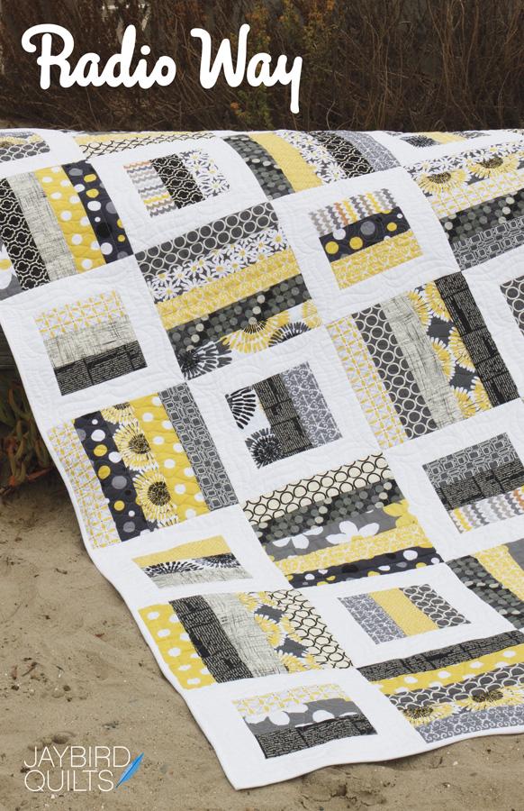 Radio Way Quilt Pattern Jaybird Quilts