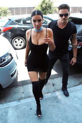 Kim Kardashian moves flaunting her hips