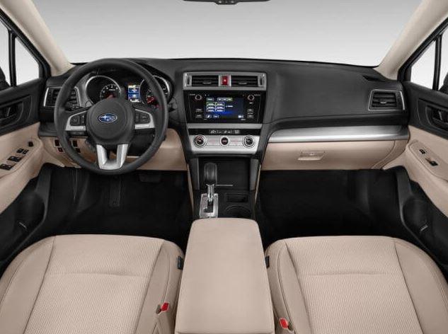 2017 Subaru Outback 3.6R Interior
