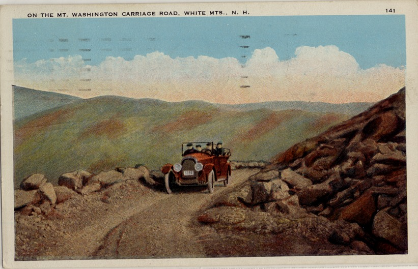 Mt Washington Auto Road >> The Blog About The Postcards Happy 150th Mt Washington Auto Road