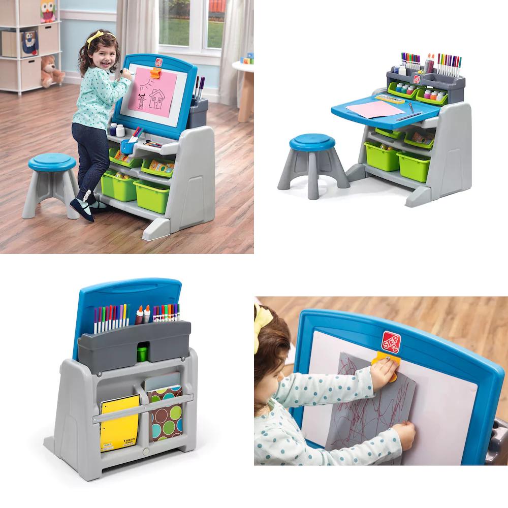 kohls 35 99 reg 89 99 step2 flip doodle easel desk stool