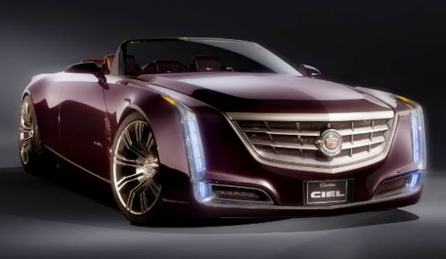 2017 Cadillac Ciel Convertible Specs and Price