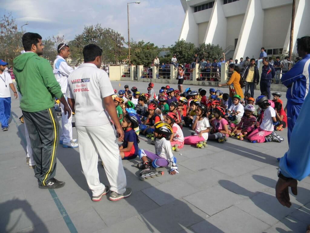 Roller shoes in hyderabad - Skating Classes At Miyapur In Hyderabad Shoe Roller Skates Roller Skating Rink Wheels Road Wheels Roller