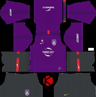Johor Darul Takzim Nike Kits 2019 -  Dream League Soccer Kits