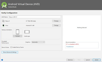 Android Virtual Device AVD