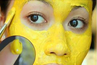 masque au curcuma