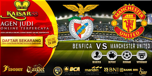 PREDIKSI TEBAK SKOR JITU LIGA UEFA CHAMPIONS LEAGUE BENFICA VS MANCHESTER UNITED 19 OKTOBER 2017