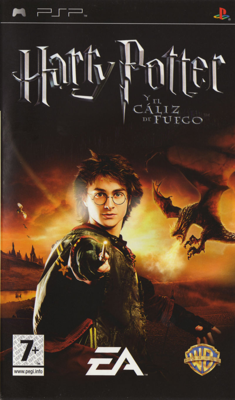 Harry Potter And The Goblet of Fire - PSP - ISO Download