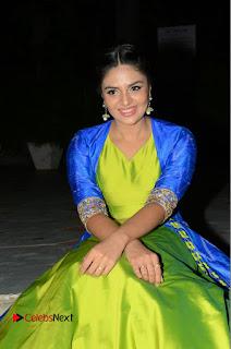Telugu Cinema Actress Anchor Srimukhi Pictures at Rail Movie Audio Launch  0067.JPG