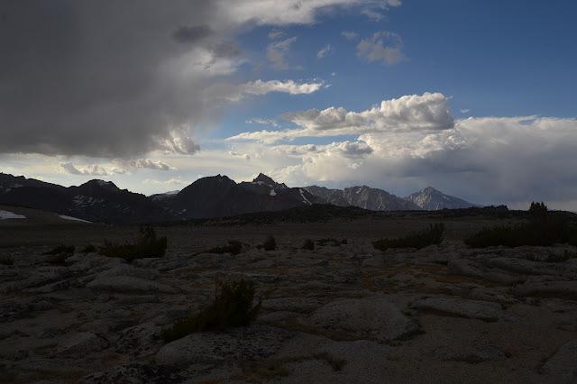 Basin Mountain and surroundings