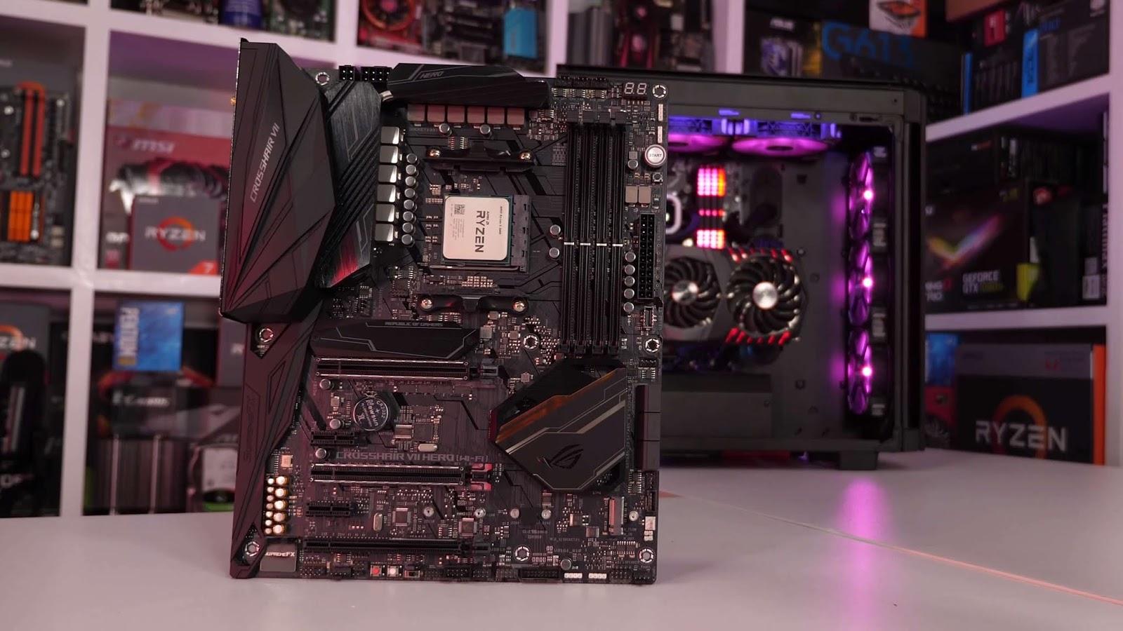 5 Pilihan Motherboard AMD X470 Terbaik