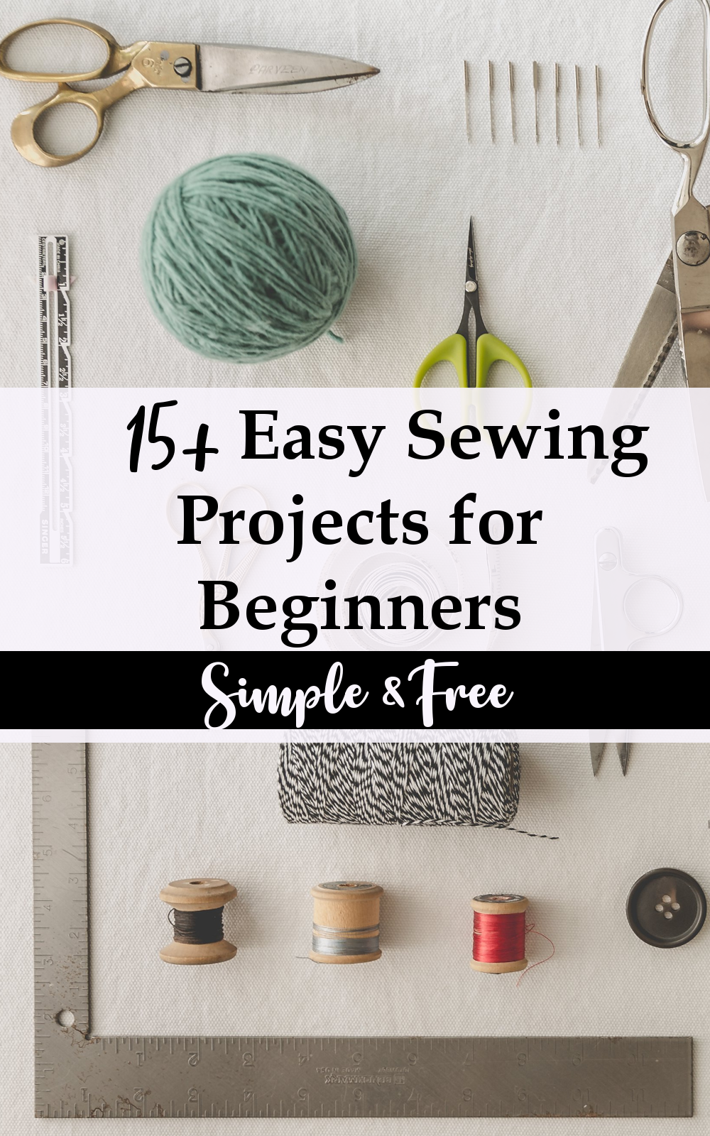 Free and Easy Beginner Sewing Projects for Free - GYCT Designs