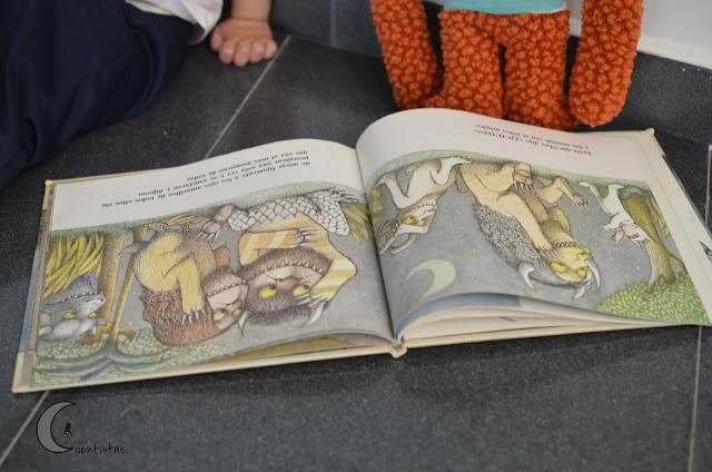 Ilustraciones del libro de Maurice Sendak.