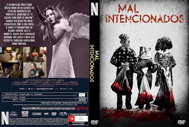 Capa DVD Mal Intencionados [Custom]