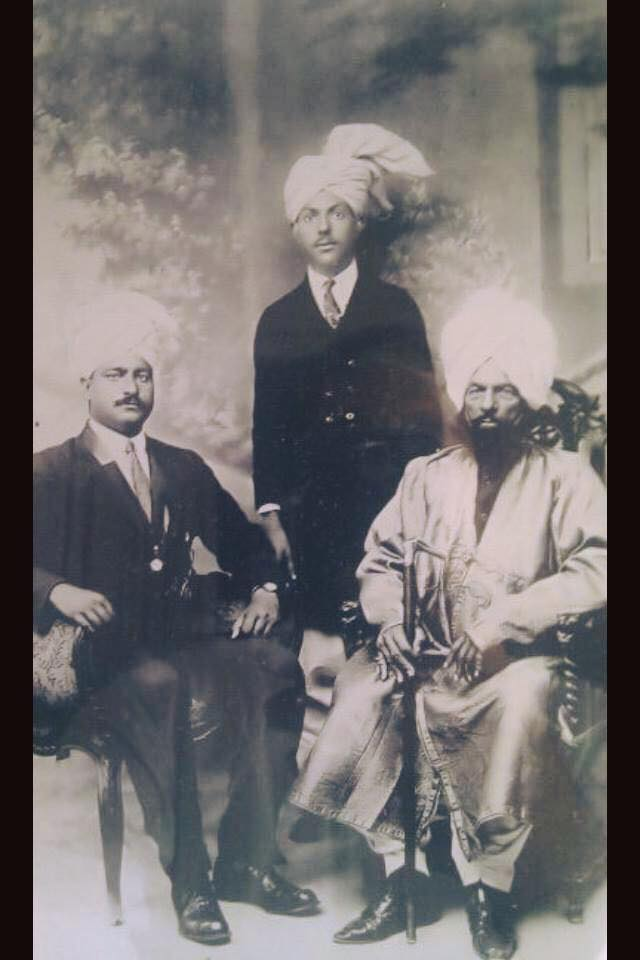 Raja Sultan Lal Hussain and Raja Muhammad Khan of Pothi