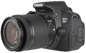 Canon 700d price in India : Specification and Feature Review