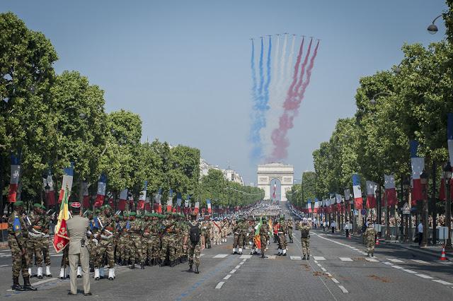 Champs Élysées em Paris