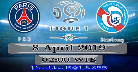 Prediksi Bola855 Paris Saint Germain vs Strasbourg 8 April 2019