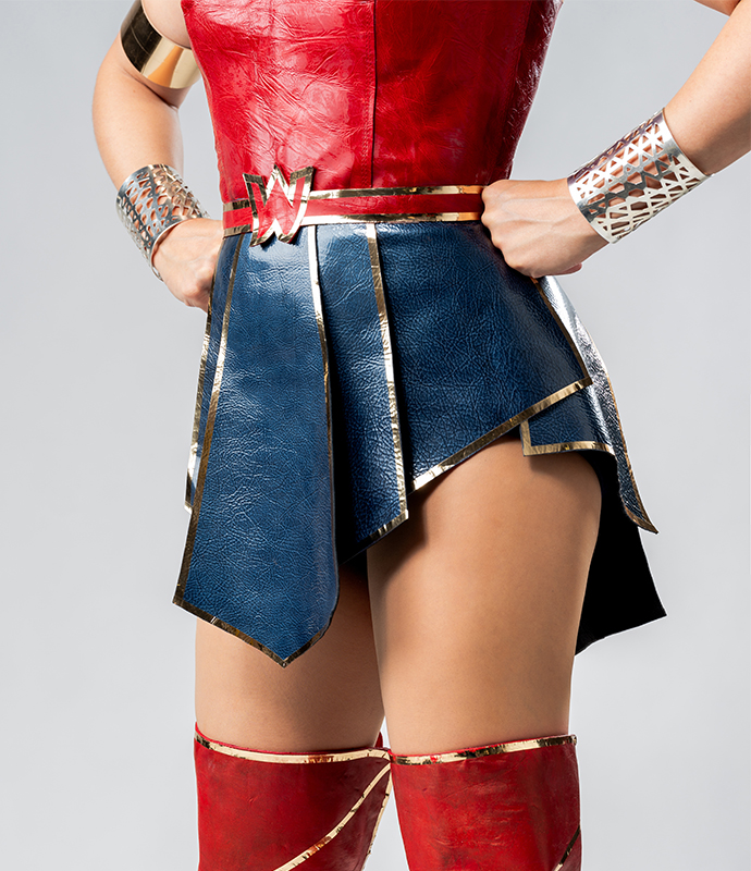 Close Up on Suit Up! Wonder Woman | oonaballoona by marcy harriell
