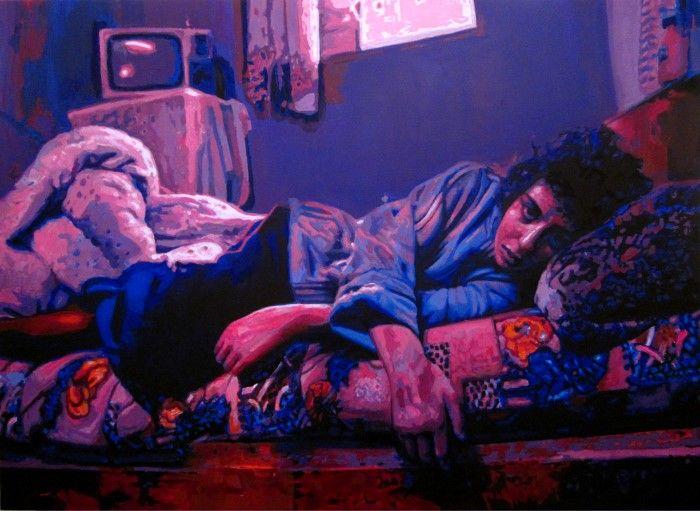 Испанский художник. Cristian Blanxer