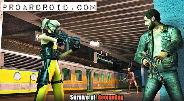 لعبة Hopeless Raider-Zombie Shooting v1.4 مهكرة للاندرويد (اخر اصدار) logo