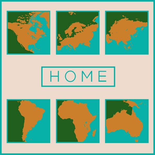 Various Artists - Home Cover