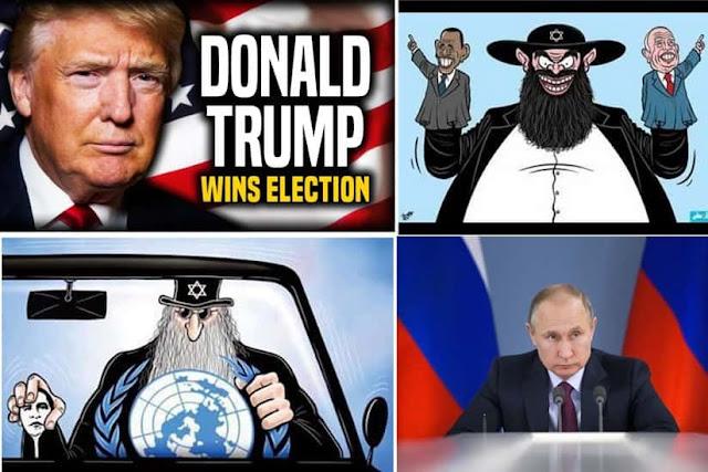 Putin: Kaum Yahudi Ada di Belakang Kecurangan Pemilu Amerika