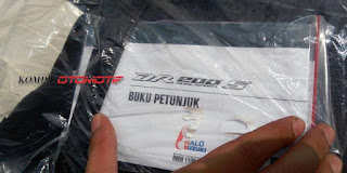 buku manual suzuki DS 200 S