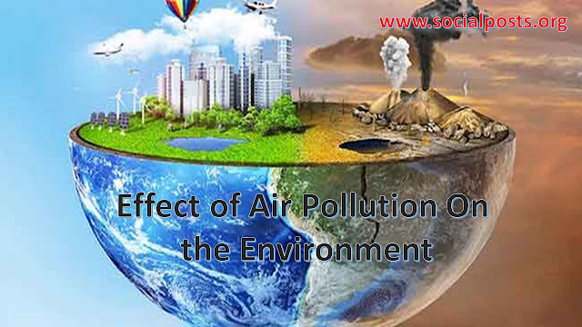 Air Pollution Effects in Points